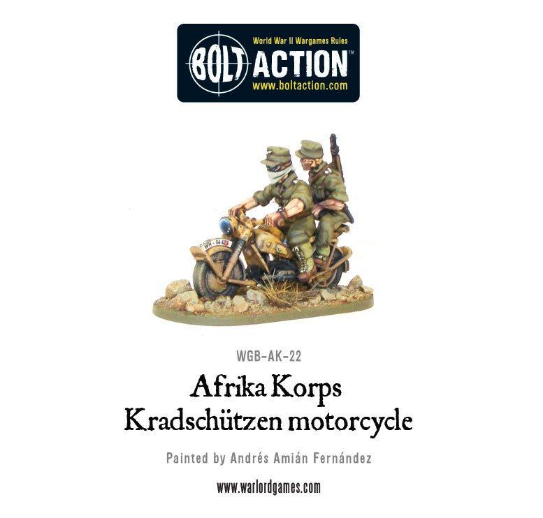 BA - Afrika Korps - Kradschützen motorcycle