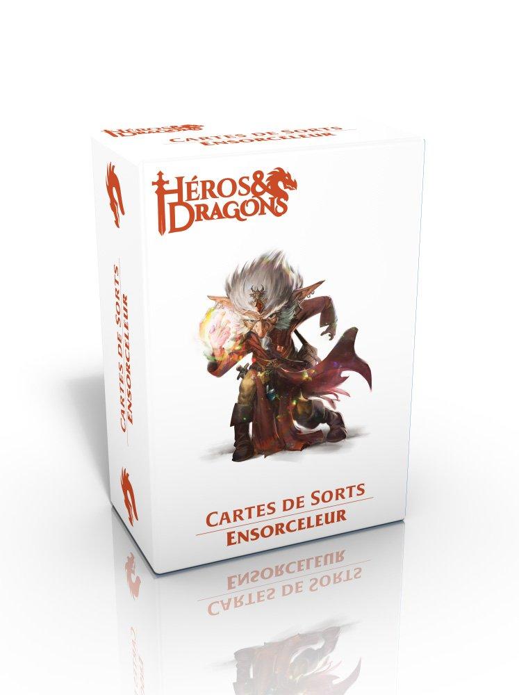 Héros & Dragons : carte de sort - Ensorceleur
