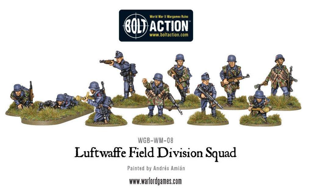 BA - German - Luftwaffe field division squad