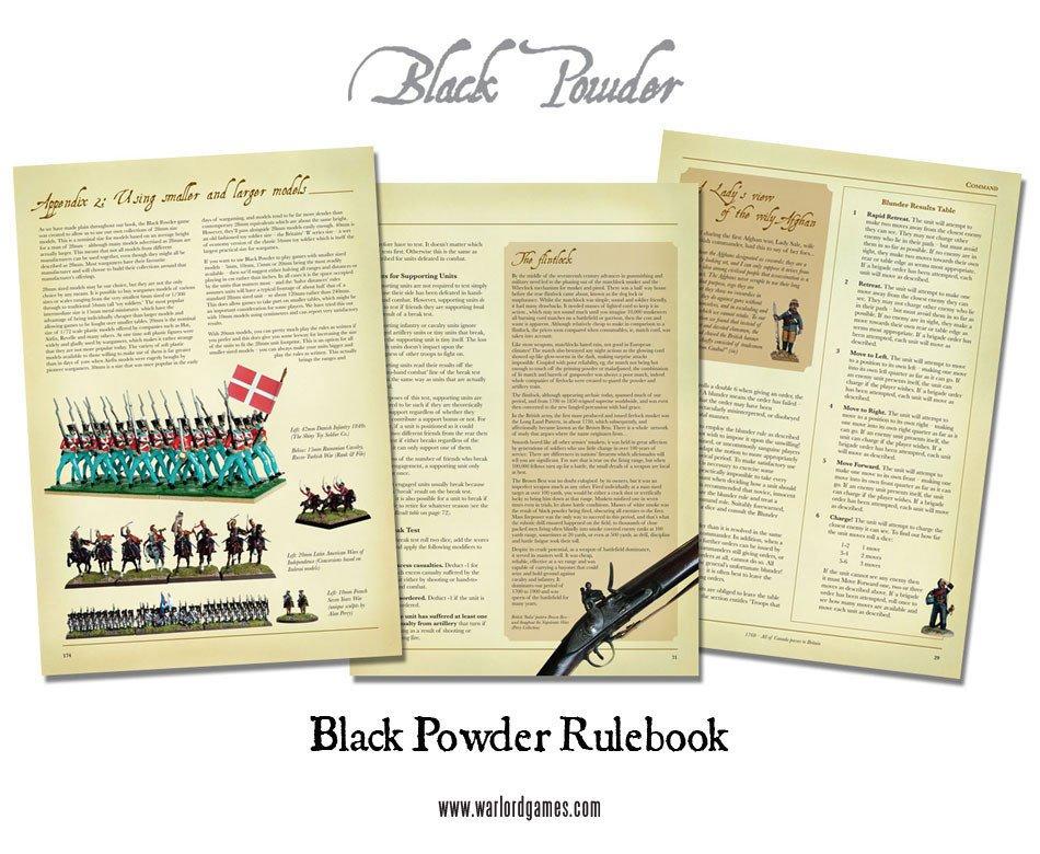 BP - Black Powder rulebook