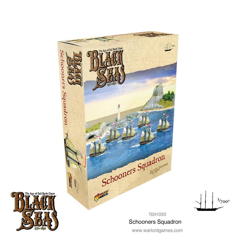 Black seas : Schooners squadron