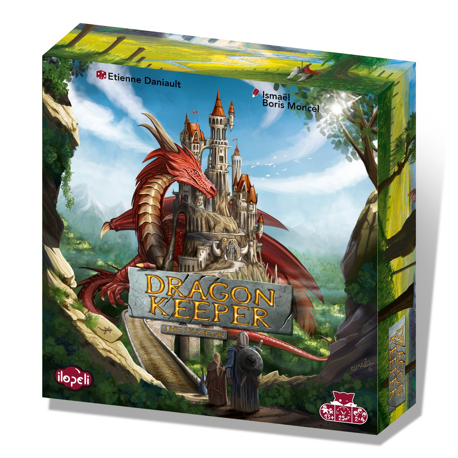 dragon keeper : The dungeon (fr - en - de - it)