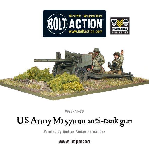 BA - US - US Army M1 57mm anti-tank gun