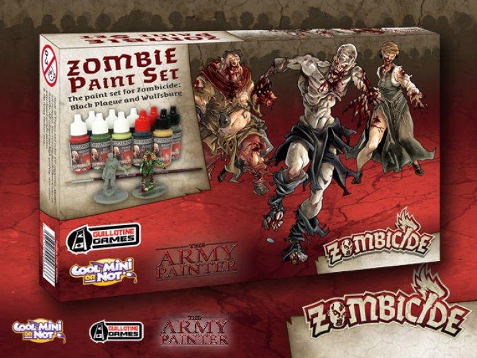 AP - Zombie paint set (black plague)
