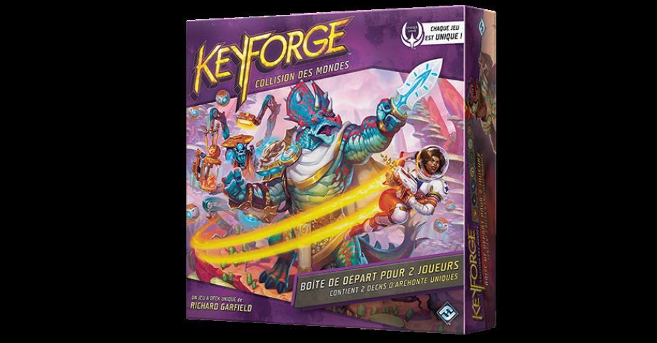 Keyforge Starter : Collision des Mondes