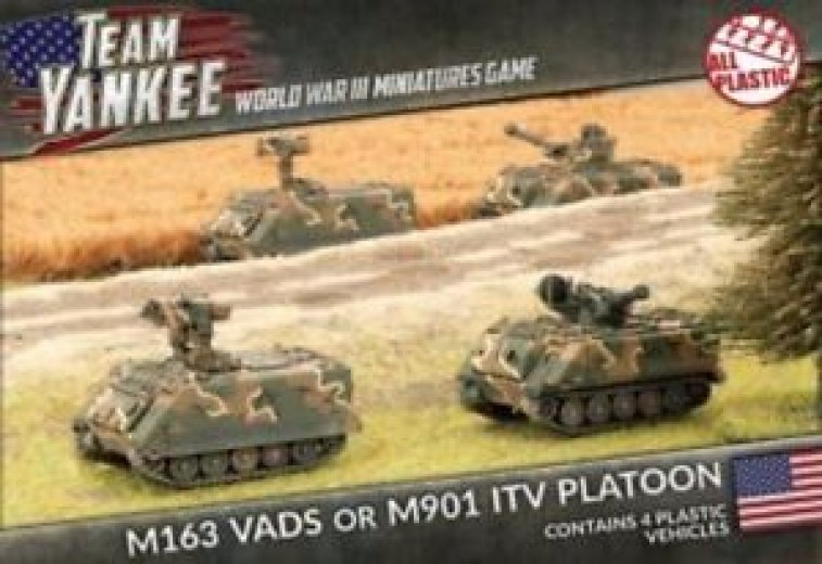 FoW - TY - US - M163 Vads or M901 ITV platoon
