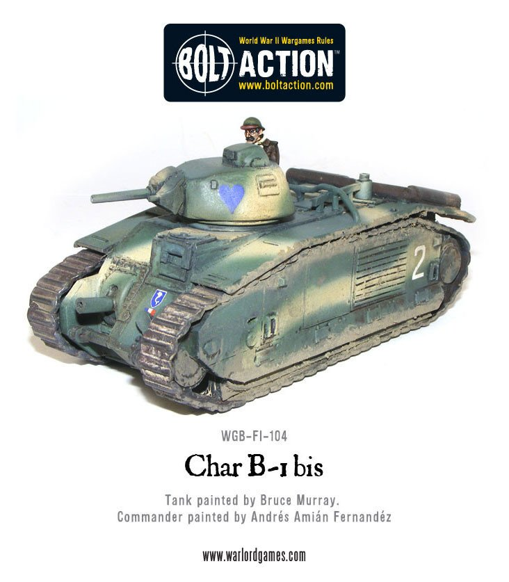 BA - French - Char B1 BIS