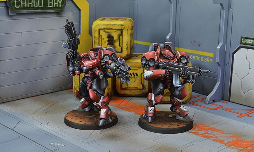 INF - Nomads - Gecko Squadron