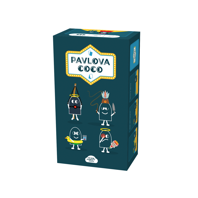 Blanc manger coco : Pavlova Coco