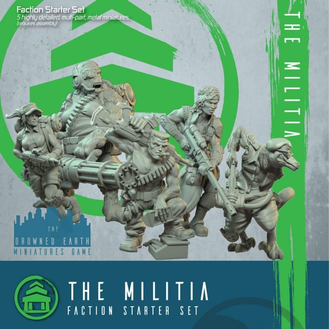 The Drowned Earth - Starter Set Militia