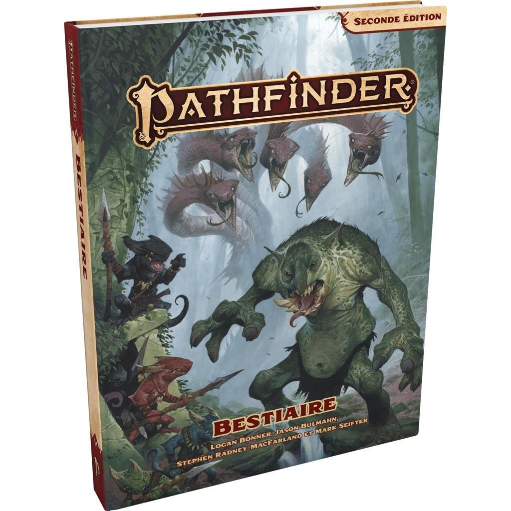 Pathfinder Seconde édition : Bestiaire