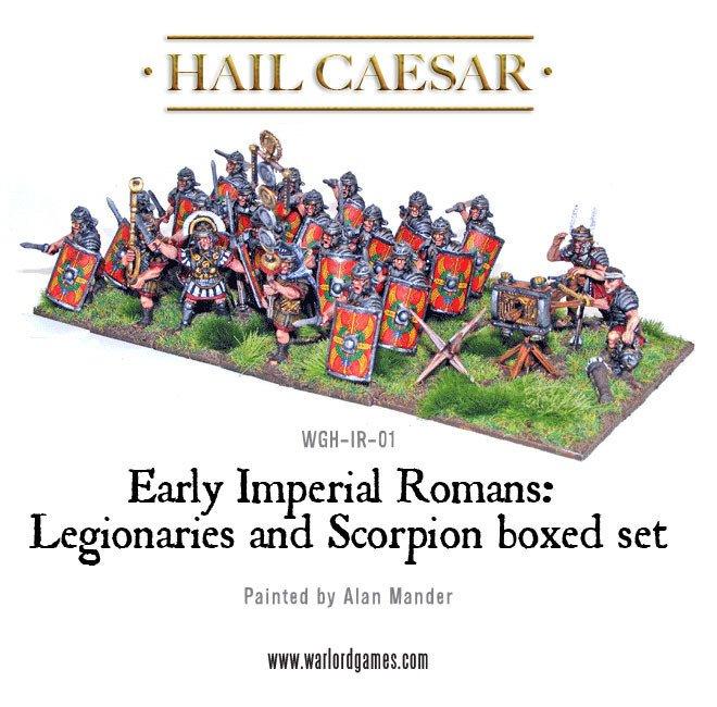 HC - Imperial roman legionaries
