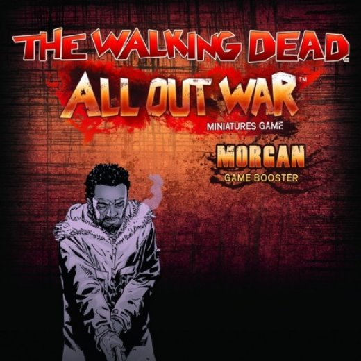The Walking Dead All Out War - morgan