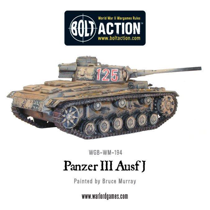 BA - German - Panzer III Ausf J
