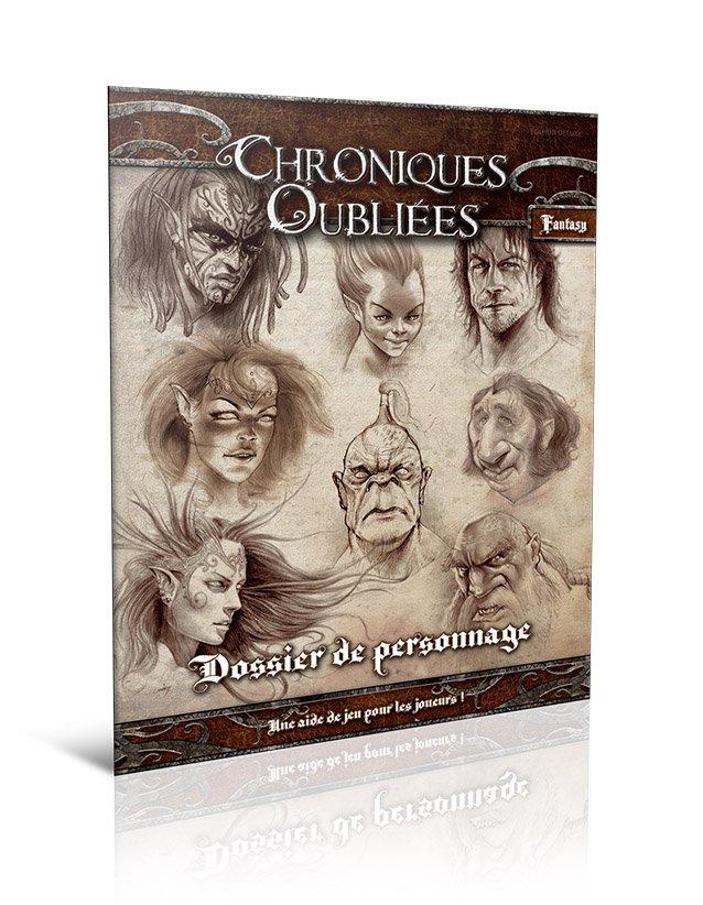 Dossier de Personnage (Chroniques oubliées Fantasy)