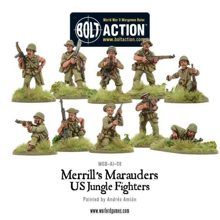 BA - US - Merrill's marauders