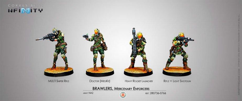 INF - NA2 - Brawlers, Mercenary Enforcers