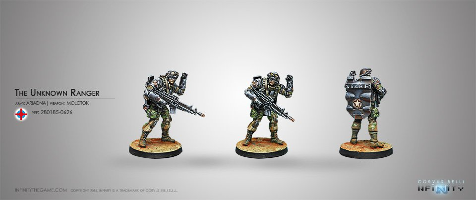 Inf - Ariadna - The unknown ranger