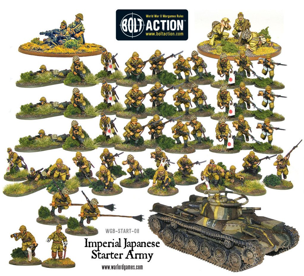 BA - Banzaï Japanese starter army