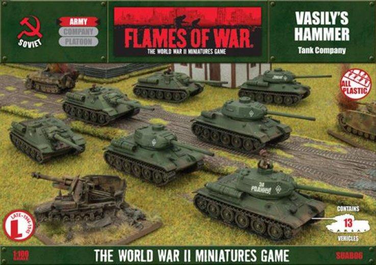 FoW - USSR - Vasily's hammer tank