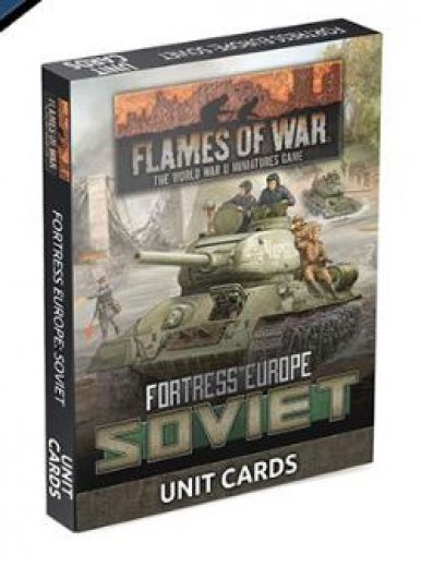 FoW - Fortress Europe : Soviet unit card