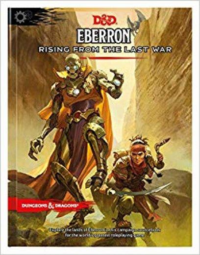 D&D next - Eberron Rising from the last war