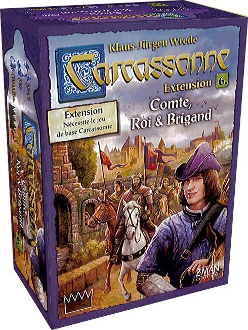 Carcassonne ext. 6 : Comte, roi & brigand