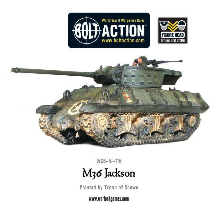 BA - US - M36 Jackson tank destroyer
