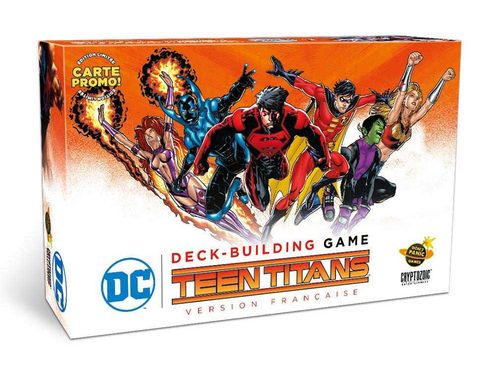 Teen Titans DC Comics deck building game (VF)