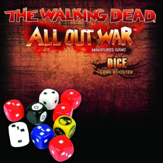 The Walking Dead All Out War - dice