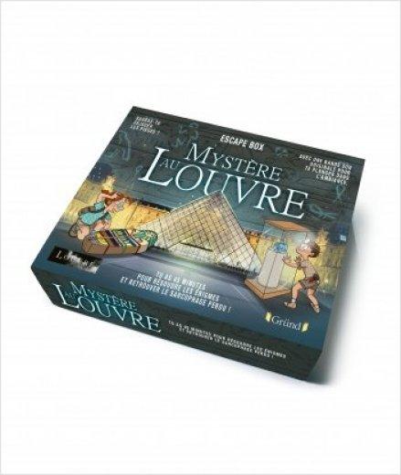 Escape box : Mystère au Louvre (enfants)