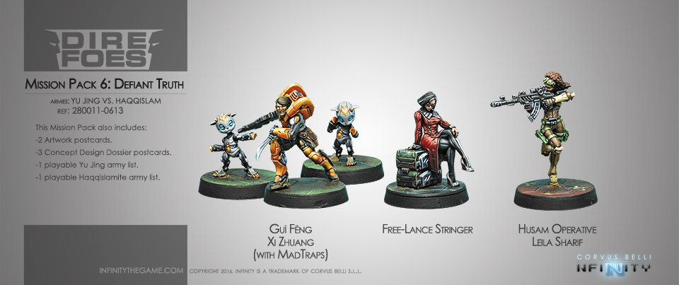 INF - Mission pack 6 (Defiant truth)