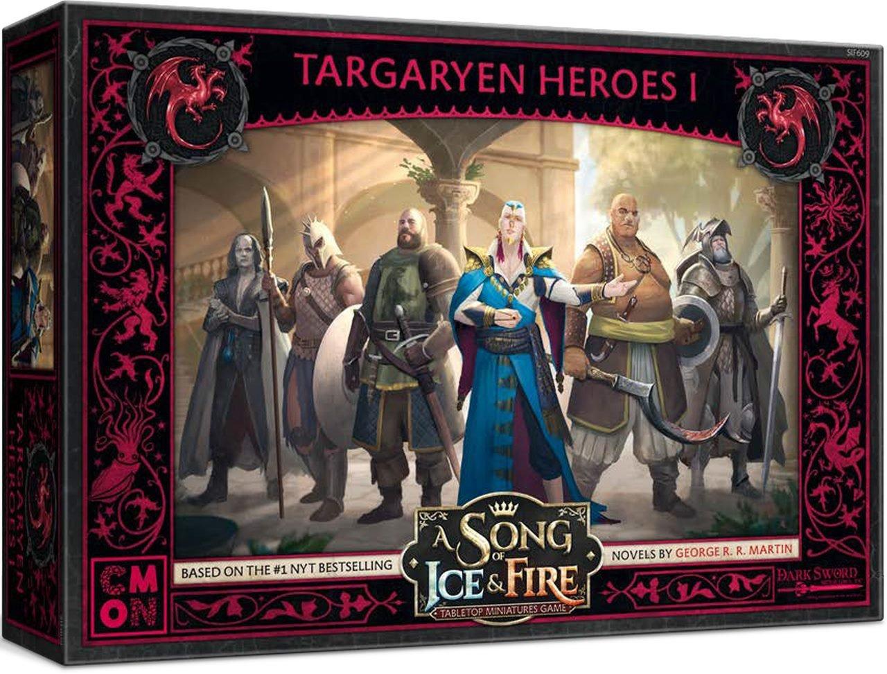Le Trône de Fer - JDF - Targaryen heroes (eng)