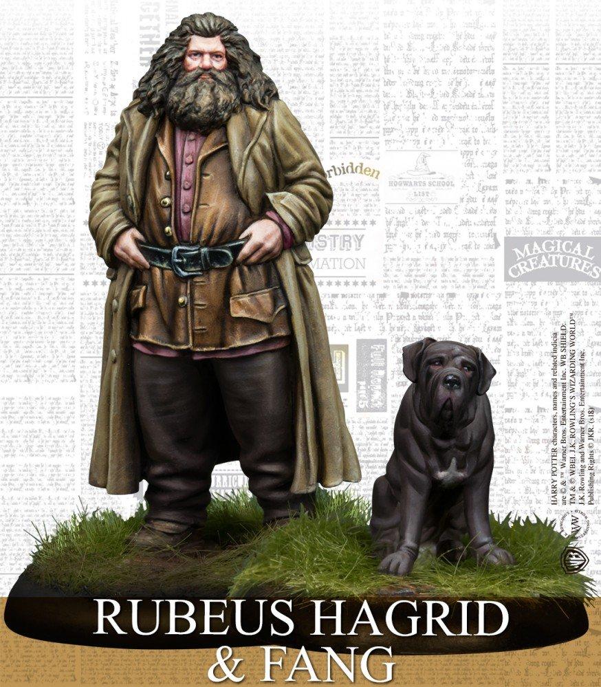 Harry Potter Miniatures - Rubeus Hagrid