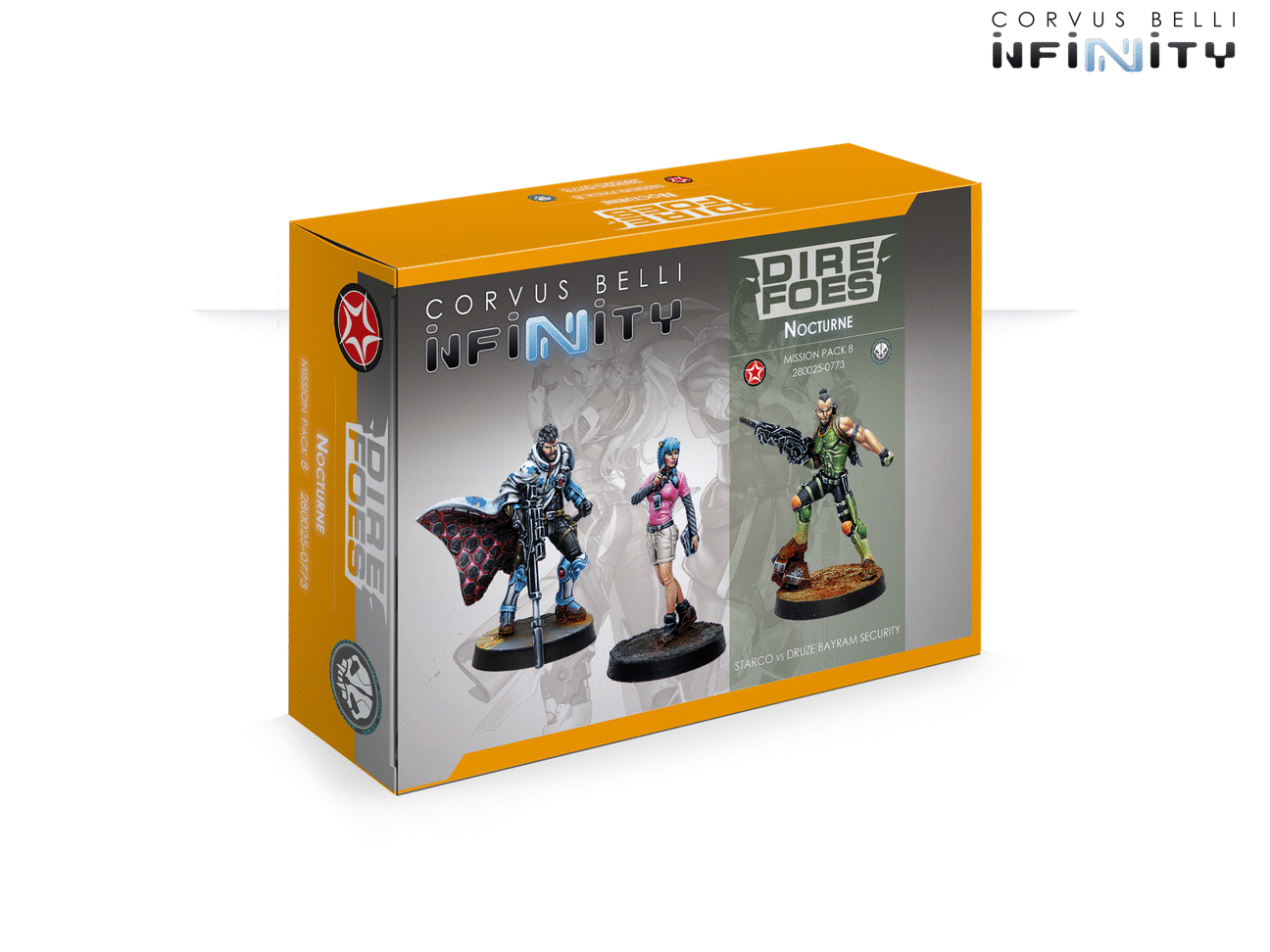 INF - Mission pack 8 (Dire foes Nocturne)