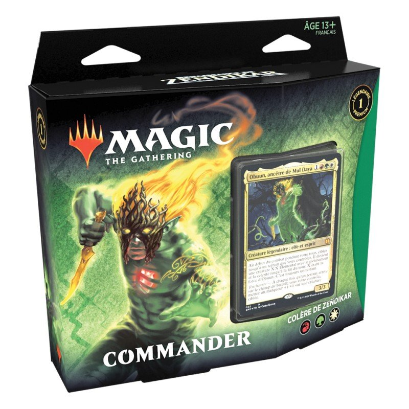 Magic - Commander deck Zendikar - Colère de Zendikar