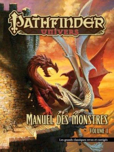 PathFinder - Manuel des monstres volume 1 : Les grands classiques revus et corrigés (couverture souple)