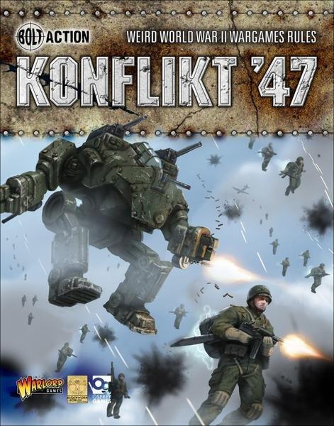 Konflikt '47 - Livre de règle (En)
