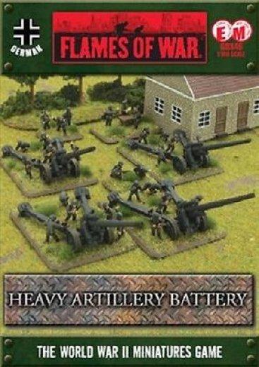 FoW - GER - Heavy artillery battery