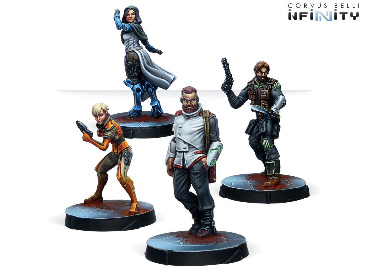 Inf - RPG Characters set - Agents of the human sphere