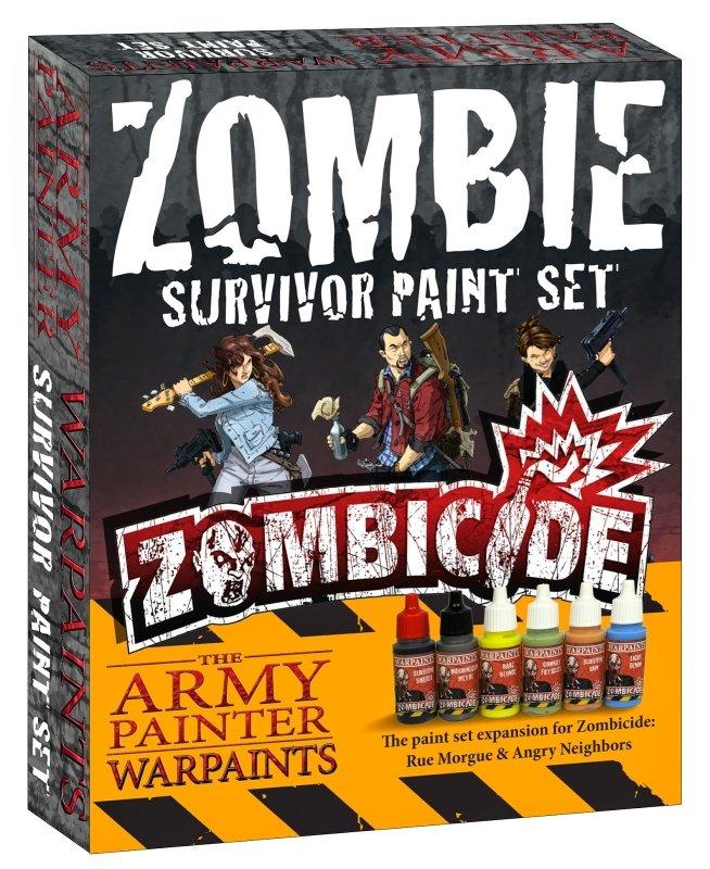 AP - Survivor paint set
