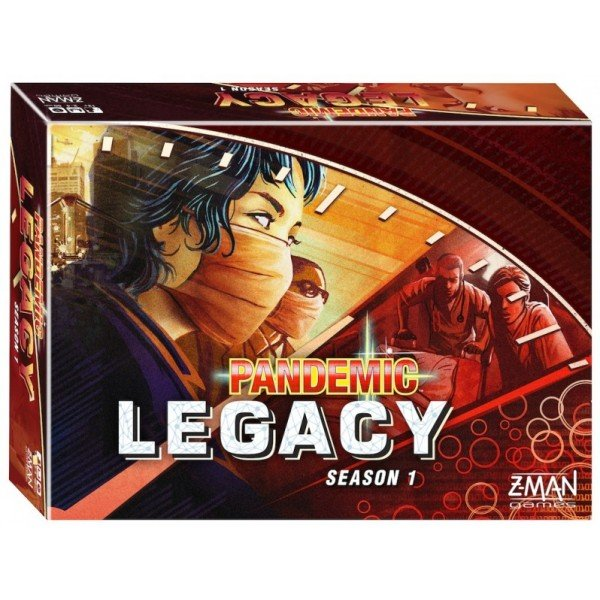 Pandemic legacy - saison1 (rouge)