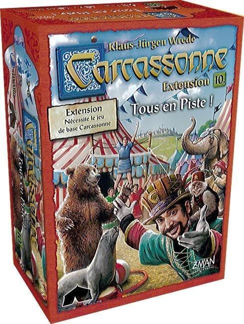 Carcassonne ext. 10 : Tous en Piste!
