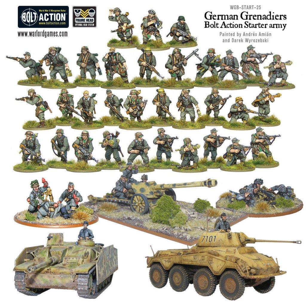 BA - German grenadiers starter army