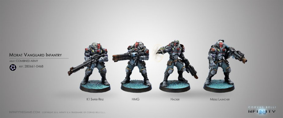 INF - Combined army - Morat vanguard infantry