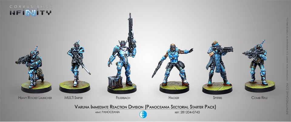 INF - Panoceania - Varuna immediate reaction division (sectorial army)