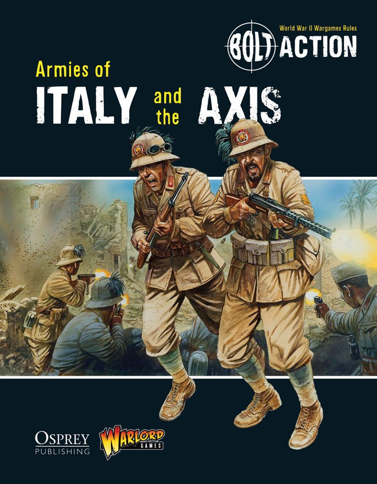 BA - Armies of Italy and the Axis (Book)