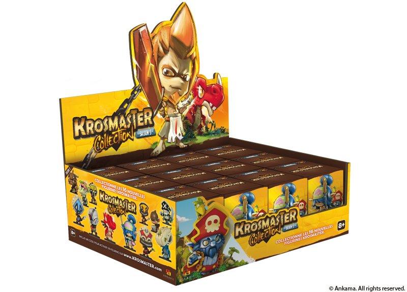 Boite de 12 Blindbox Krosmaster Arena S3 (12 pack)