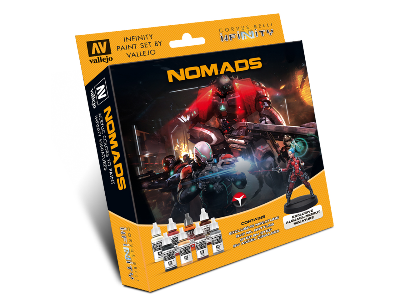 Inf - Nomads - Paint set