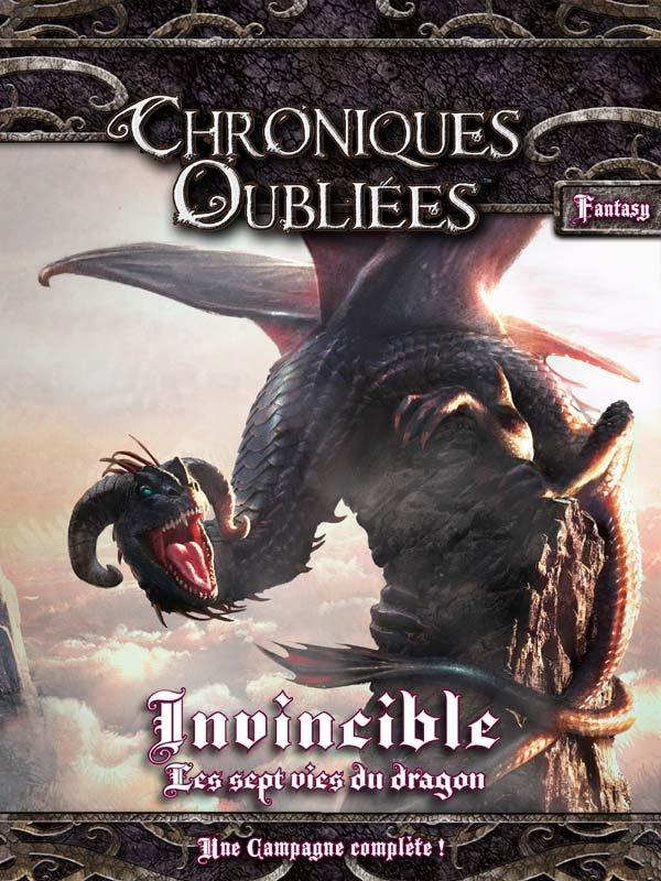 Invincible - Les Sept Vies du Dragon (Chroniques oubliées Fantasy)